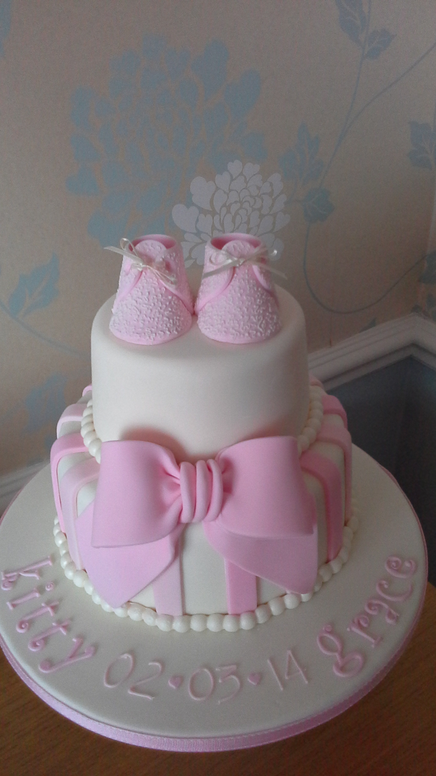 Ough What a Cake 1 Christening