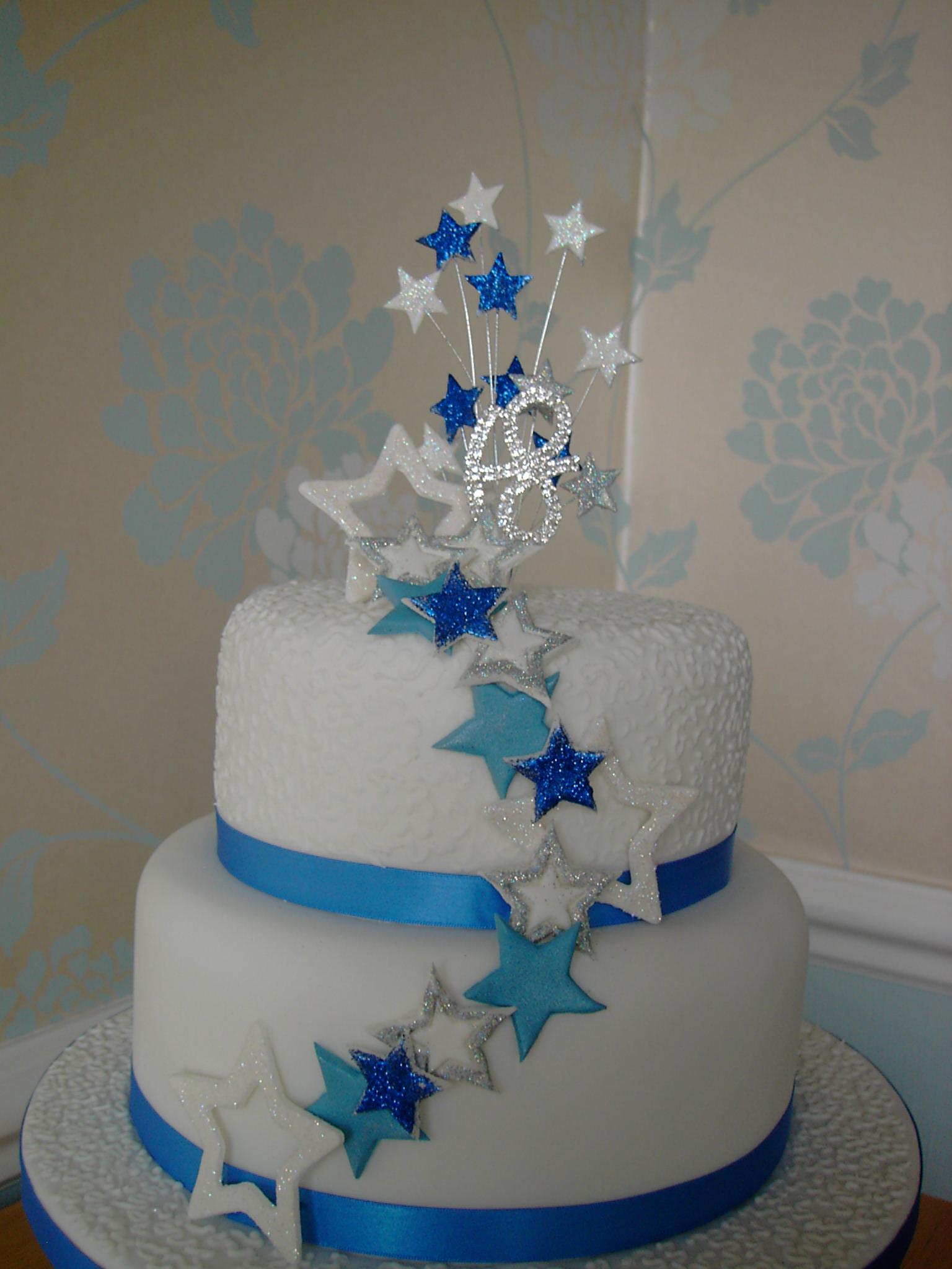 Ough What a Cake 4 Birthdays